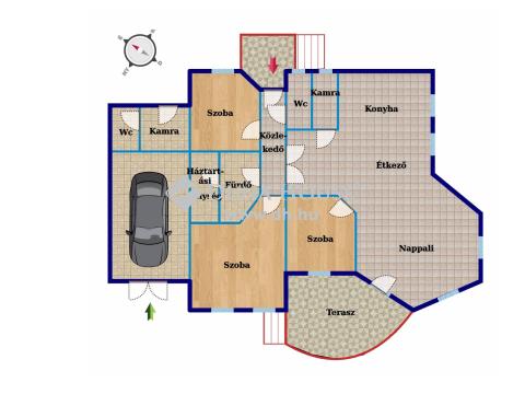 Eladó Ház, Bács-Kiskun megye, Kecskemét - KIVÁLÓ BIRTOK, KÖZVETLEN A VÁROS HATÁRÁBAN!