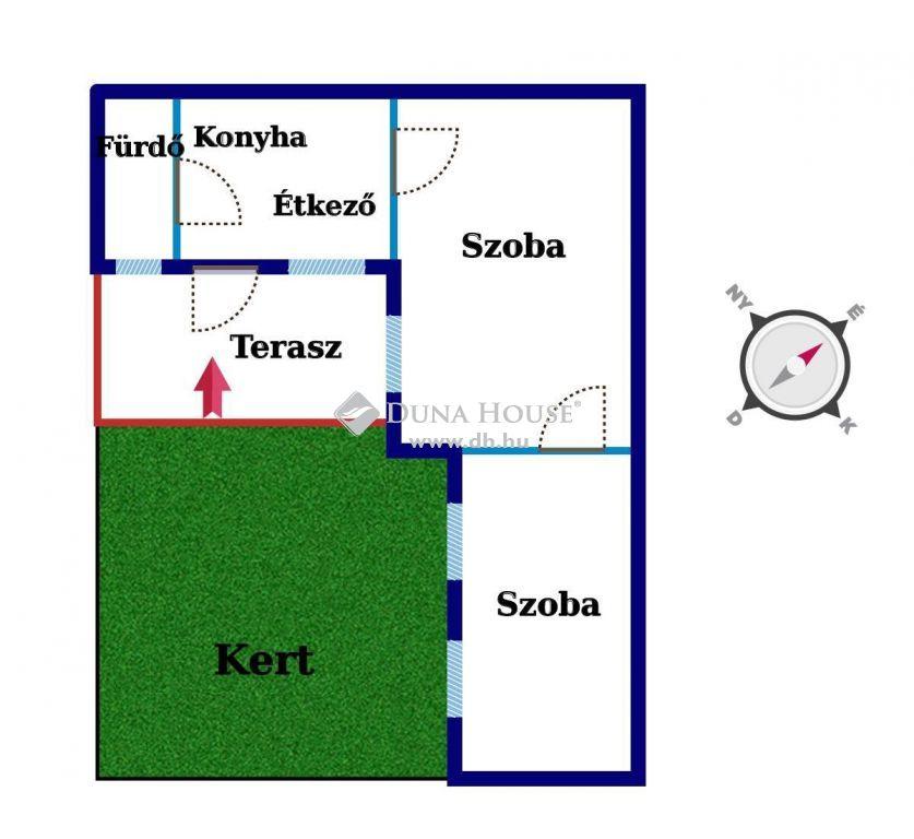 Eladó Lakás, Budapest - NAPFÉNYES 2 szobás lakás kis KERTTEL