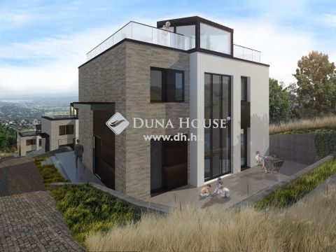 Eladó Ház, Budapest - tetőteraszos, panorámás minimál ház Testvérhegyen!