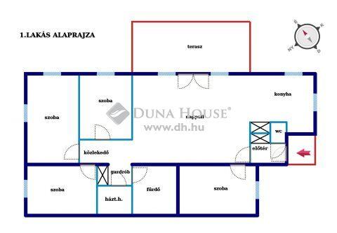 Eladó Ház, Hajdú-Bihar megye, Mikepércs - Déli új osztású részen ikerház